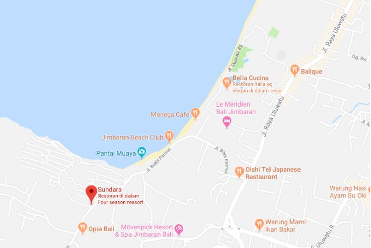 sundara_map_jimbaran
